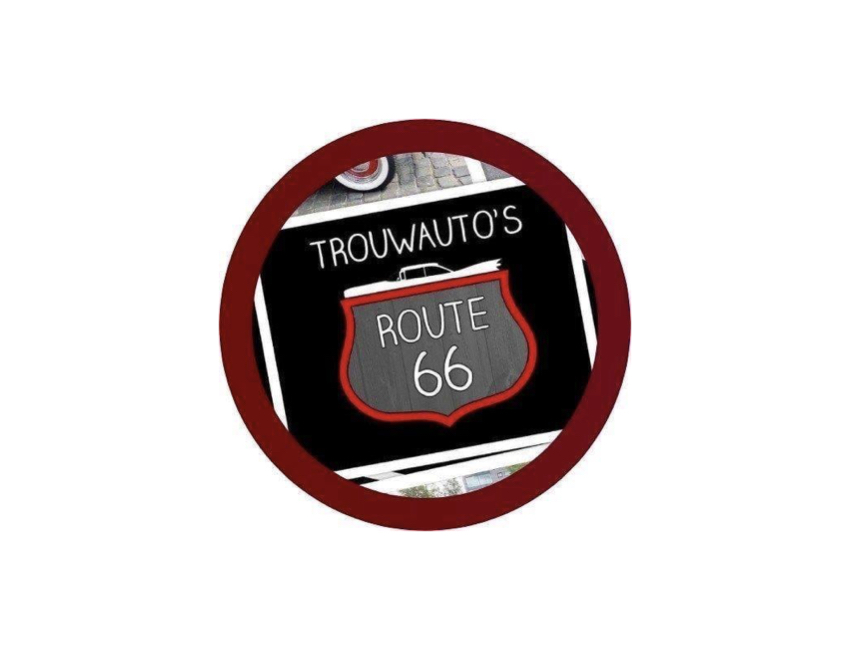 Trouwauto's Route 66